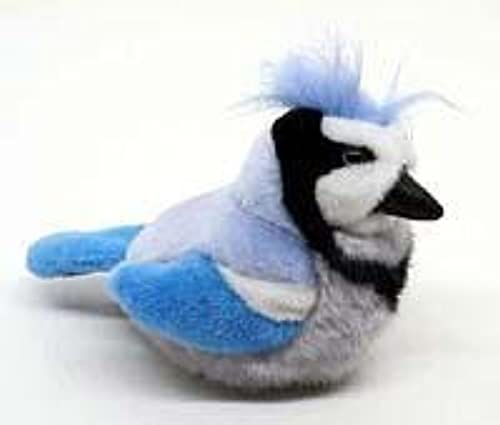 Plush Animal  bleu Jay by KM International