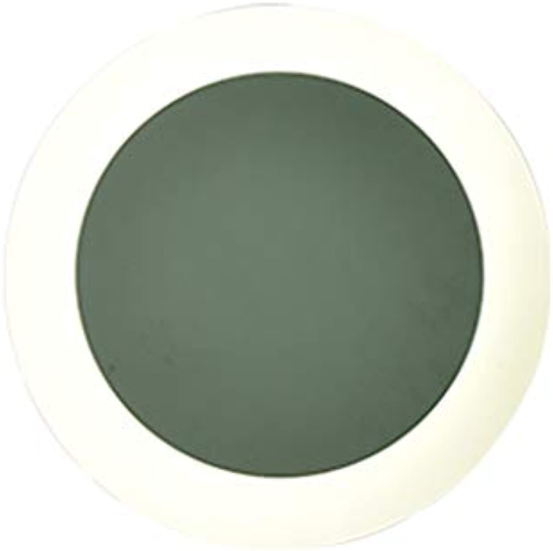WENYAO Wandleuchte Einfache Macarons Farbe Runde Moderne TV LED Wohnzimmer Schlafzimmer Kreative Skandinavische Beleuchtung (Farbe  Grün)