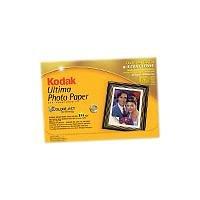 Kodak Ultima Photo, Ultra hochglänzend Papier 100 x 150 mm 20 Blätter 270 g/m² Tintenstrahldrucker
