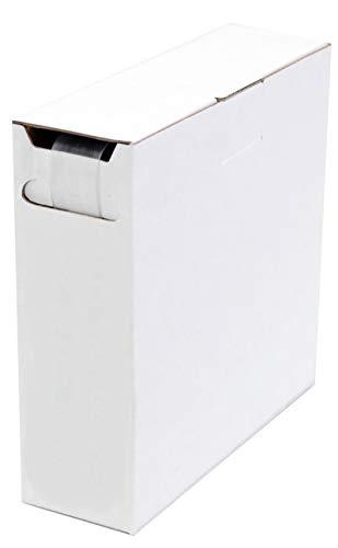 Schrumpfschlauch Isolierschlauch High-Quality 2:1 (D=19,0mm/d=9,5mm) Länge 5 m Transparent in praktischer Spender Box