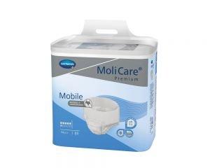 MoliCare Premium Mobile 6 Tropfen (ehemals MoliCare Mobile), Karton (4x14 Stk.), DISKRETER VERSAND, Inkontinenz-Pants für Damen/Herren bei mittlerer bis starker Inkontinenz (L)