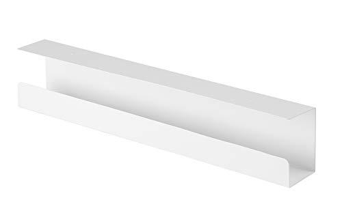 Value Kabelkanal | Untertischmontage | weiß | Untertisch-Kabel-Organizer | Für eine saubere Kabelführung unter dem Schreibtisch
