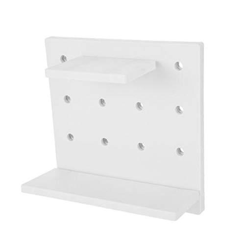 unknow Brownyon Wandspeicher Organizer Kunststoff Hängende Displayhalter für Schlafzimmer Küche Badezimmer,Grau