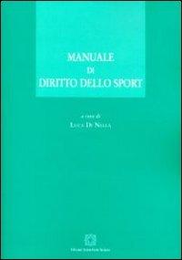 Manuale di diritto dello sport