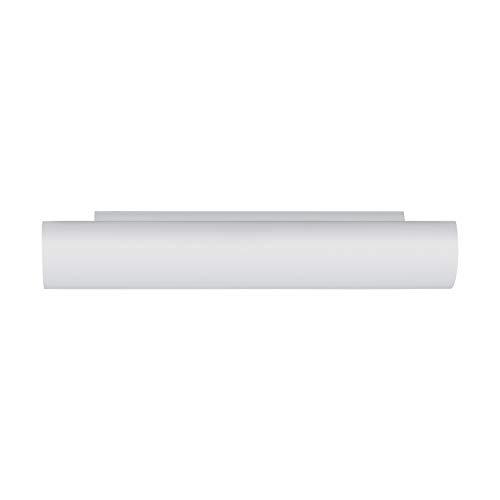 EGLO Lámpara de pared Zola 2 x 40 W de cristal blanco...