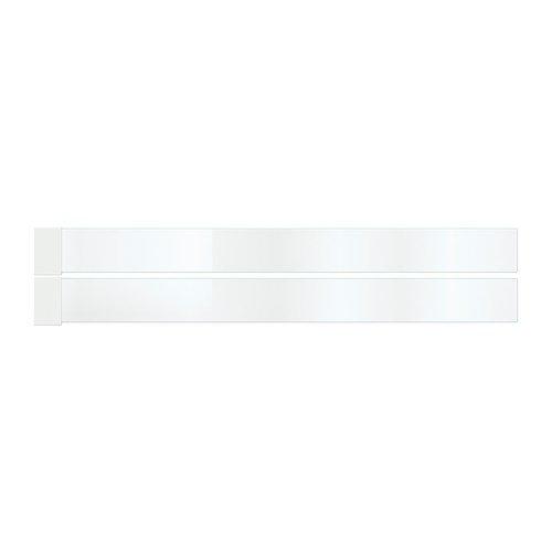 Ikea MAXIMERA - Add-on-Seite für die Schublade, Mittlere, Glas / 2 Pack / 2 Stück - 60 cm