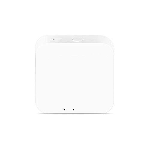 Yagusmart Tuya Zigbee 3.0 Mini Hub Gateway Wifi Smart Home Bridge Control remoto inalámbrico, funciona con el interruptor Tuya Zigbee