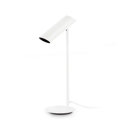 Faro Barcelona 29881 - LINK Lámpara Sobremesas y lámparas de pie, acero, color blanco