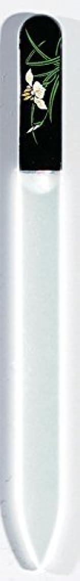 偏差詩人有限蒔絵 ブラジェク製 爪ヤスリ 五月 菖蒲 紀州漆器
