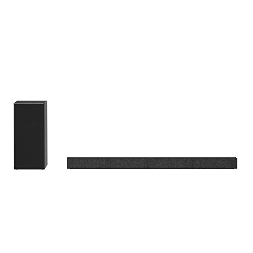 LG Sound Bar 5.1ch with 440W Total Output, High Res. Audio, Meridian Audio, Surround Sound Ready - Black