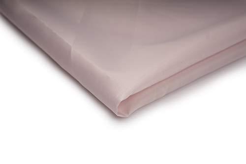 Tissu décoratif doublure polyester - Disponible dans une variété de couleurs - 50 x 150cm (Poudre Rose)