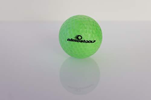 Almost Golfbälle Crossgolf almostGOLF 10er Pack (neongrün), 43,00 mm