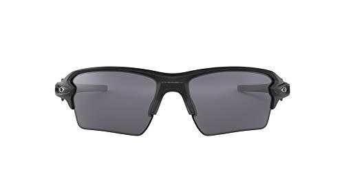 Oakley Men's OO9188 Flak 2.0 XL Sunglasses, Matte Black/Black Iridium, 59 mm