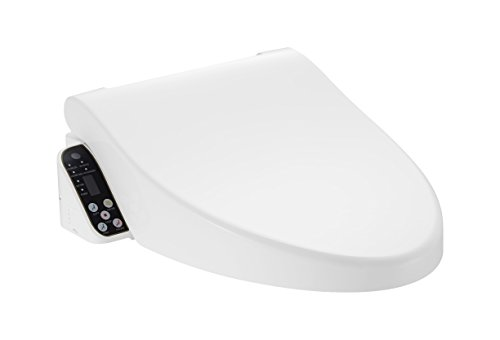 Pacific Bay Cascadia Smart Toilet Seat with Remote Control - Sensor Automated Lid and Seat - Unlimited Heated Water - Adjustable Temperature Dryer - The Most Advanced Toilet Seat on the Market