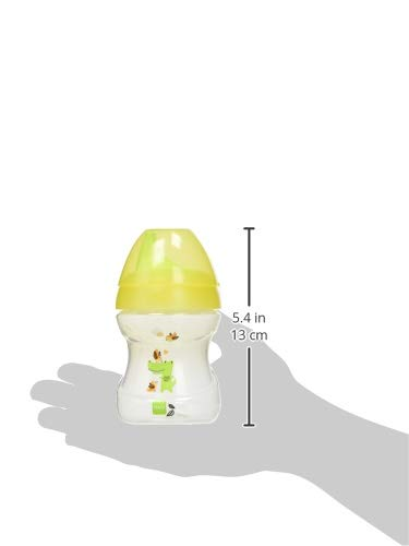 MAM 62835120 – Learn To Drink Cup Fashion190 ml, Trinklernbecher, gelb/neutral - 2
