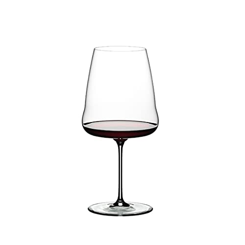 FEANG Wine Glasses Hand Blown Italian Style Crystal Wine Glasses - Lead-Free Premium Crystal Clear Glass - Set Of 1 - Gift-Box for Any Occasion Champagne Glasses (Color : 1002ml)