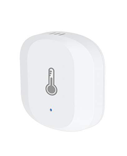 SAMOTECH ZigBee-Sensor für Temperatur und Luftfeuchtigkeit, kompatibel mit SM310 ZigBee Hub