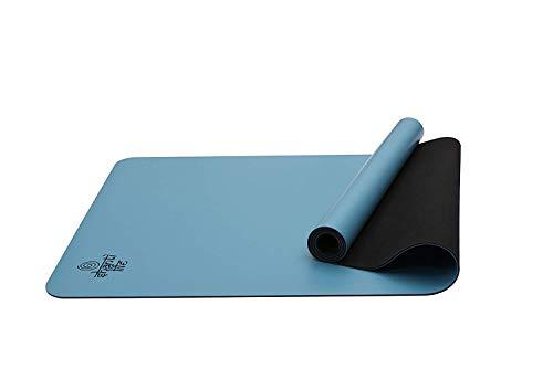 Shanti Life The Kind Mat Biologisch afbreekbaar | Non-slip | Natuurlijke Rubber | Comfort & Ondersteuning| Yoga,Pilates, Fitness, Stretching, Gym Oefening