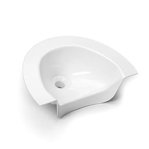 Kildwick - Separador de orina para Inodoro de Compost, Color Blanco