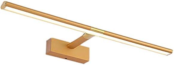 JXYJHBL Led-spiegel met anti-condens-effect, eenvoudig te installeren, uittrekbare lengte en driekleurige dimming, 60 cm