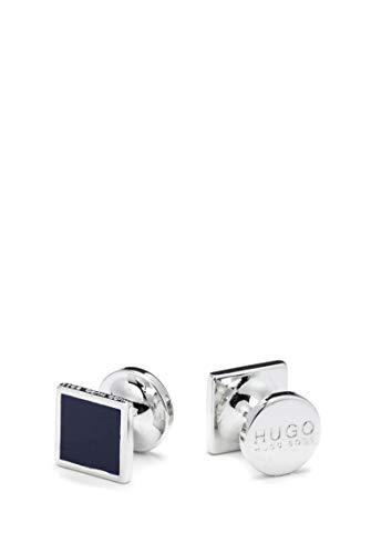 BOSS Hugo Mens E-TOTAKE Square Cufflinks with Enamel
