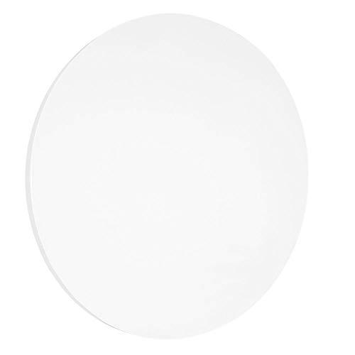 Whiteboard zonder rand 100 cm Ronde vorm