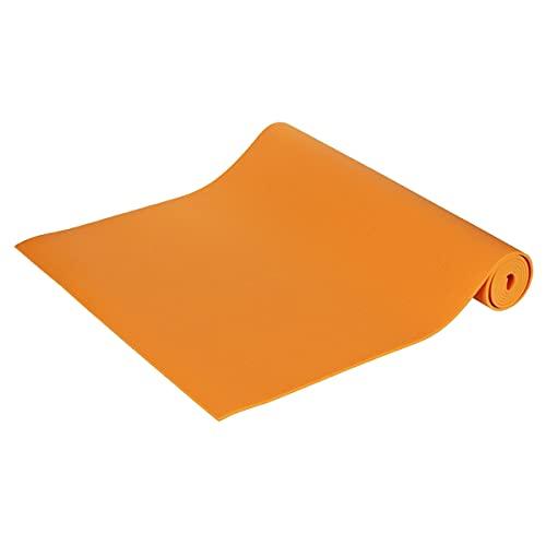 Yogamatte Premium 183 x 60 x 0,3 cm Made in Germany, orange