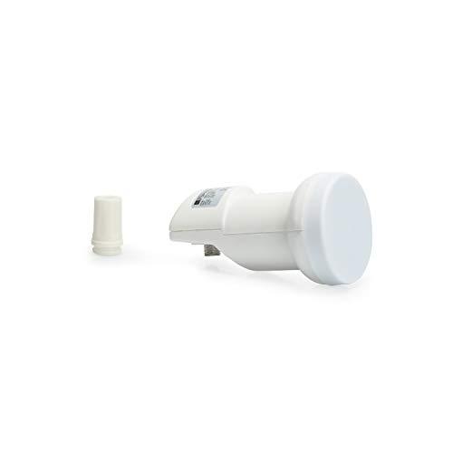 Opticum Robust Single LNB FullHD 3D Digitaler Empfangskopf Konverter für Satelliten-Anlagen Empfang SAT
