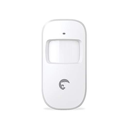 OWSOO Drahtloser Türfenstersensor Etiger ES-D1A 433 MHz Drahtloser PIR-Bewegungssensor Dualer passiver Infrarotdetektor für das Sicherheitsalarmsystem