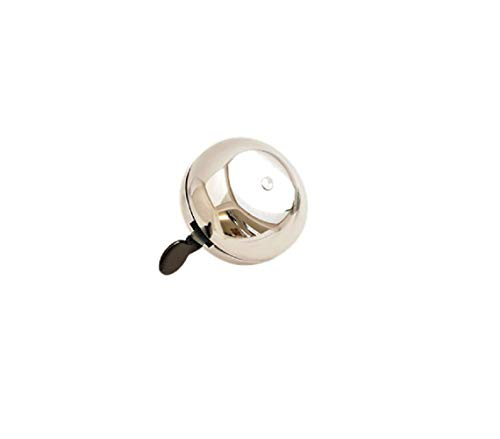 AANIJ(TM) Bicycle Hat Iron Handlebar Gear Bell Ring Loud Sound (Silver)