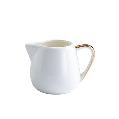 Lápiz Artístico de Leche Mini Phnom Penh Western Vajilla Salsa Jar Ceramic Coffee Leche Jar Plus Leche Taza Table Tabla Sugar Cuenco Creativo Hogar Crema Jar Jack Jam Jarra de leche ( Size : Large )