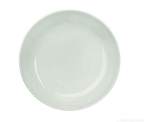 ASA 25101250 Colibri Coupe Assiette, Porcelaine, Blanc, 24 x 24 x 4,5 cm