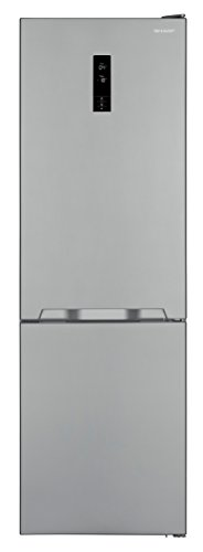 Sharp SJ-BA10IEXI2-EU Kühl-Gefrier-Kombination / A++ / Höhe 186 cm / Kühlteil 230 L / Gefrierteil 94 L / NoFrost / LED-Display / 3 Gefrierschubfächer / Gentle-Multi-Airflow