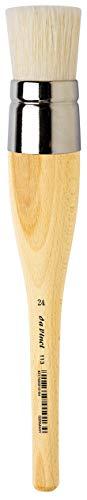 Da Vinci Graphic Design Series 111 Schablonenpinsel, Plain Wood, 24 x 3.1 x 30 cm