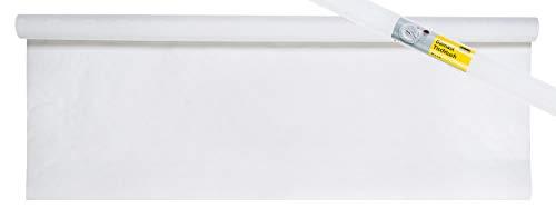 Damast-tafelkleed, 10,0x1 m, wit