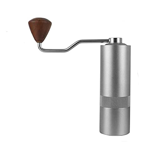 Coffee Bean Grinder, Compact Body Carry Hand-Held Coffee Grinder, Grinding Thickness and Scale Easy to Adjust, Suitable for Family Use, Go Out Carry Etc