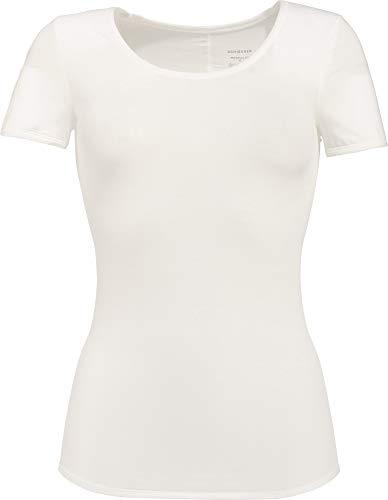 Schiesser Damen Personal Fit Shirt 1/2 Arm Unterhemd, Beige (naturweiss 412), L