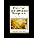 Production and Operations Management: Total Quality and Responsiveness/With Om-Companion (Mcgraw Hill Series in Management) 0079120377 Book Cover