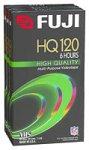 Fuji 3-Pack 120-Minute VHS Tapes (HQT1203PK)
