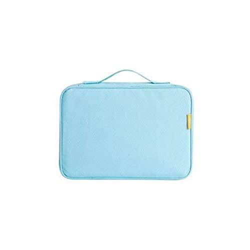 SDLSH Accesorios De Billetera, Documentos de Viaje Organizador Accesorios, Pasaporte Funda Billetera, Documento Creativo Caso Organizador, Accesorios De Bolso De Bricolaje (Color : Blue)