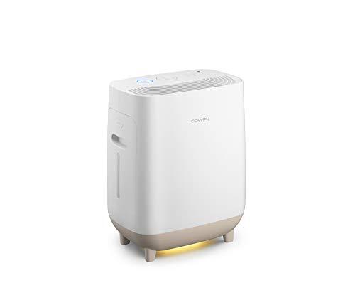 COWAY Hue&Healing 2-in-1 Luftreiniger & Luftbefeuchter | Entfernt 99,5{1ec4888698a12020b607bcdcf0020f5a2da29f22c785b80b2c6ca8d609604418} der Partikel bis zu 0.3 µm, Viren & Aerosole | Schlafzimmer & Räume bis 64 ㎡ | Clean Air Delivery Rate (CADR) von 247 m³/ h