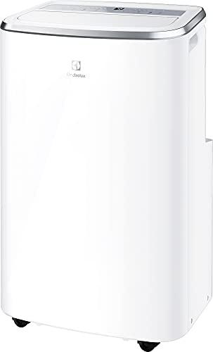 Electrolux Condizionatore Portatile EXP26U558HW, 10,5k, Caldo/Freddo, Self Evaporative System, Display Premium, Filtro Antibatterico, Timer 24h, R290
