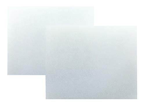 SN-TEC Universal Filter (200mm x 160mm) für Meltem Vario ClassicLine ab Bj 99 Typ VF-CL, V-II VF Ersatzfilter Staubfilter Luftfilter (Mengenauswahl möglich) (5 Stück)