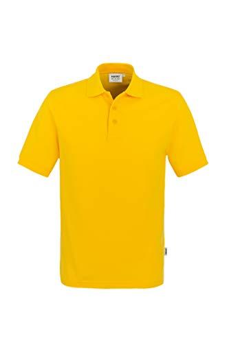 "HAKRO Polo-Shirt ""Classic"" - 810 - sonne - Größe: M"