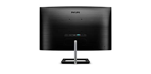 Philips 272E1CA - 27 Zoll FHD Curved Gaming Monitor, 75 Hz, 4ms FreeSync (1920x1080, VGA, HDMI, DisplayPort) schwarz