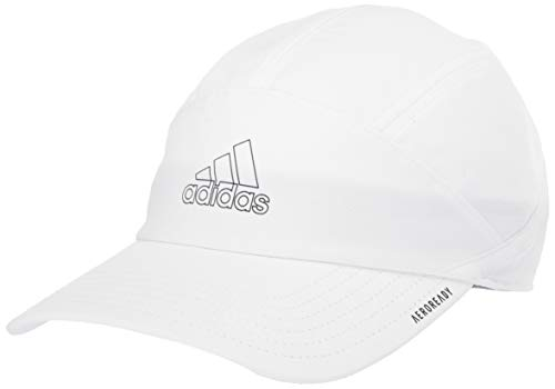 adidas Women's Superlite Trainer Relaxed Adjustable Performance Cap, White/Black, ONE SIZE