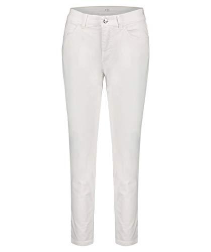 Mac Damen Jeans Melanie Feminine Fit 7/8-Länge Weiss (10) 40/26