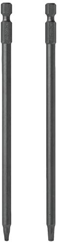 Kreg D6X2 6-Inch #2 Square Driver Bit for Kreg Pocket Hole Systems, 2 Pack