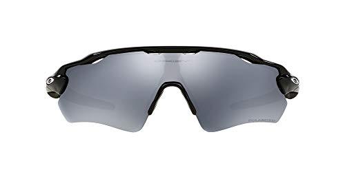 Oakley Radar EV Path - Gafas de Sol, Hombre, Negro (Polished Black/Black Iridium Polarized), Talla del Fabricante: 38