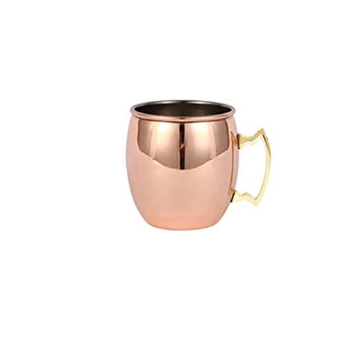 U/B Taza de acero inoxidable, vaso de cerveza de metal, taza de café de viaje para actividades al aire libre, camping, senderismo, interior y bar de cocina
